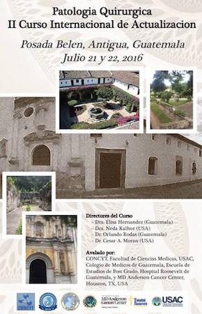 II Curso Patologia Guatemala 2016